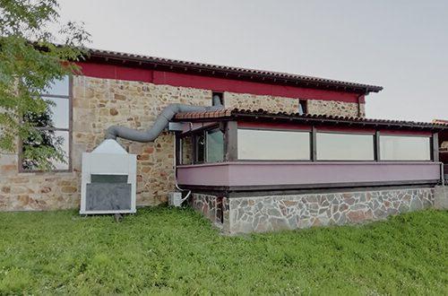 Nuestro aire acondicionado en el municipio de Larrabetzu