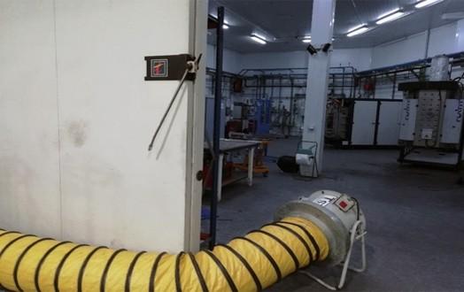 Ventilador de extracción de 7100m
