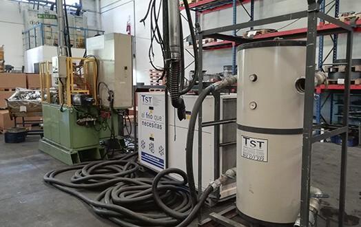 Planta enfriadora de agua de 50KW