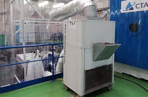 Nuestro aire acondicionado en el Parque Tecnológico de Álava