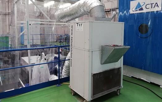 Equipo compacto aire acondicionado