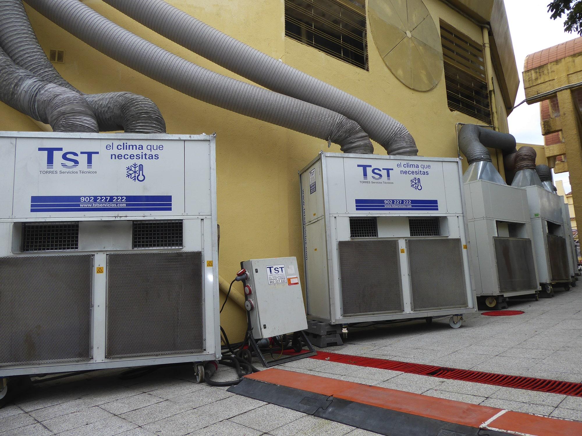 Equipos compactos de aire acondicionado