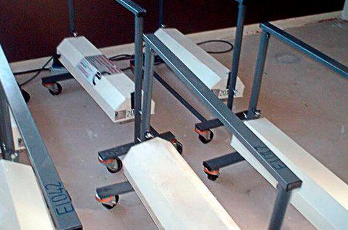 Primer sistema de secado de pavimento con calor eléctrico de la historia