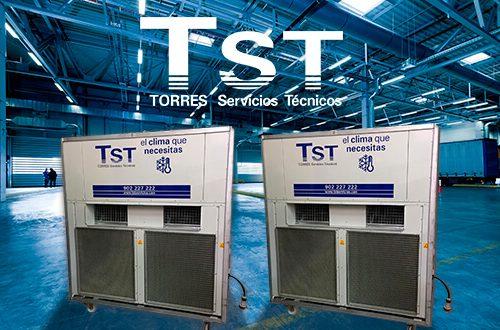 TST adquiere nuevos equipos compactos de 70.000 frigorías de potencia
