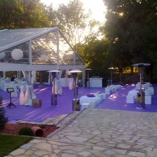 ¡Alquila una estufa de jardín y no pases frío el día de tu boda!