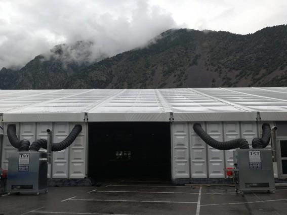 Más de 28.000 watios de luz Led para la Feria Anual de Andorra