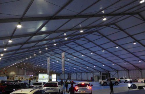 Más de 28.000 watios de luz Led para la Feria Anual de Andorra La Vella