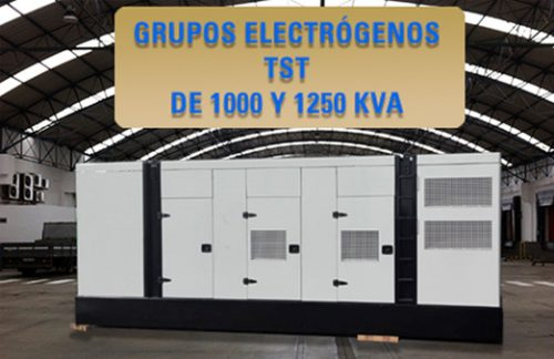 Grupos electrógenos a partir de 1000 KVA