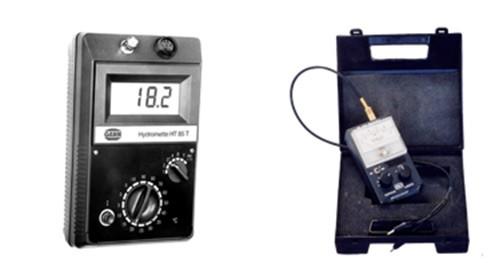 medidor de carburo, en precisión, tenemos el higrómetro de sondas
