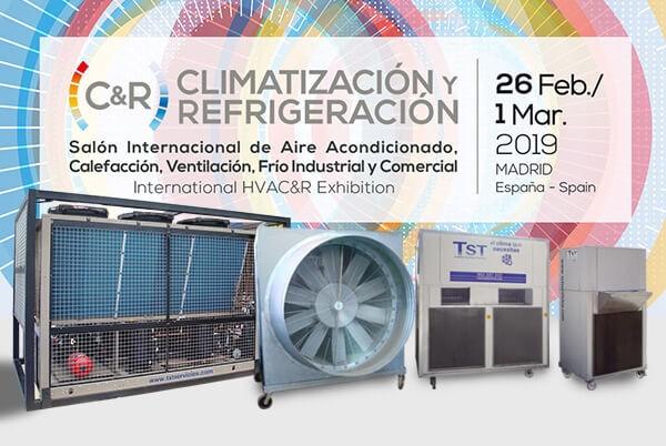 Salón Internacional de Aire Acondicionado, Calefacción, Ventilación, Frío Industrial y Comercial C&R 2019