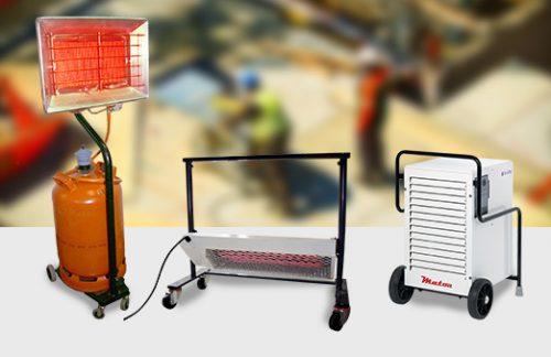 Soluciones TST para el secado de humedades en obras