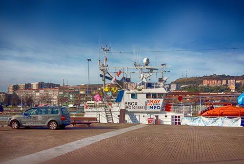 Barco de Salvamento Marítimo en Bilbao