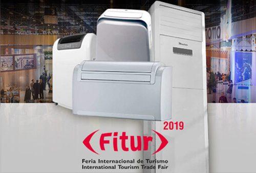 Alquiler de equipos de climatización para stands - Fitur 2019