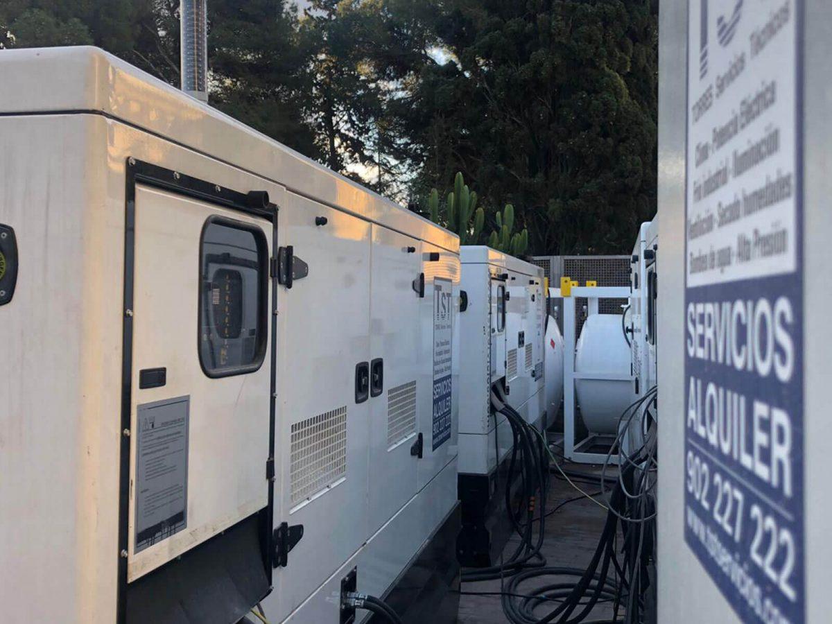 Climatización y soporte eléctrico en Torneo Conde de Godó