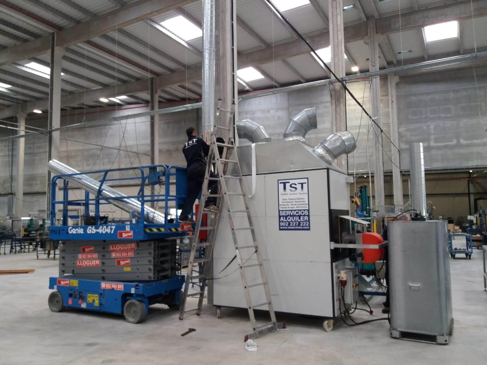 Técnico TST - Climatización para grandes espacios