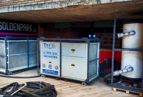 Torres servicios Técnicos climatiza un edificio