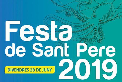 cartel fiestas de Sant Pere en Llavaneres