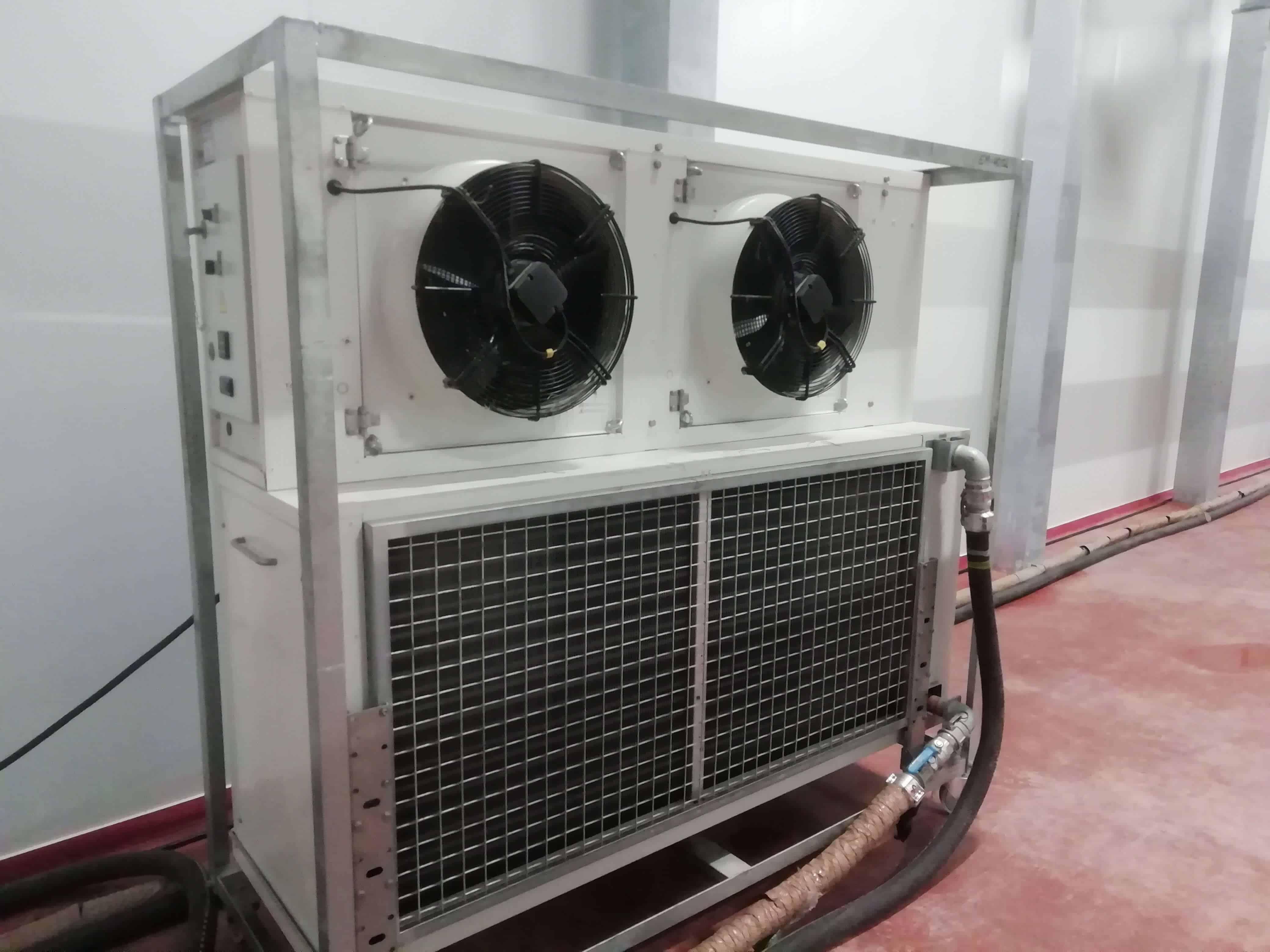 Alquiler de evaporadores cámaras frigoríficas