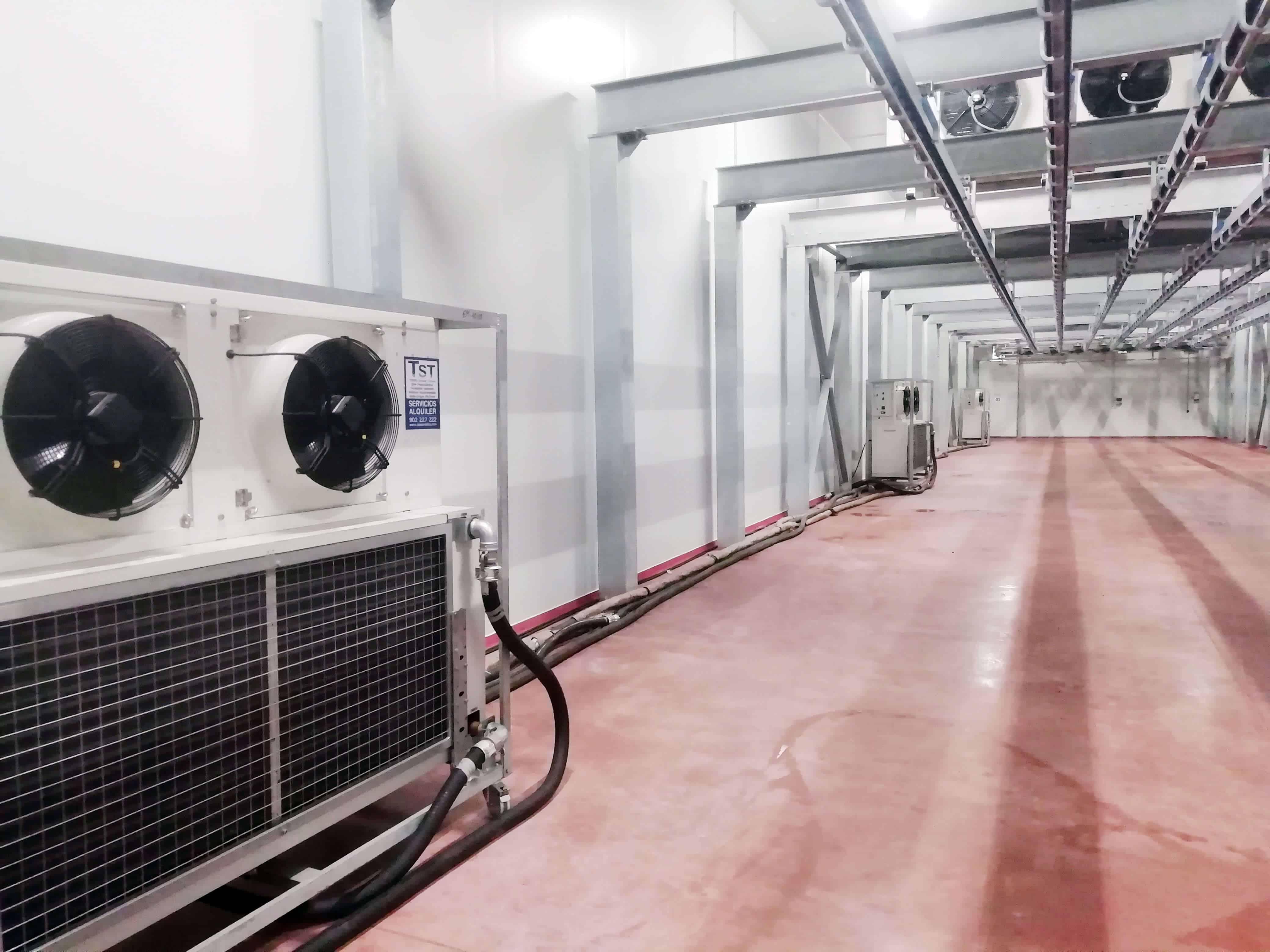 evaporadores cámaras frigoríficas