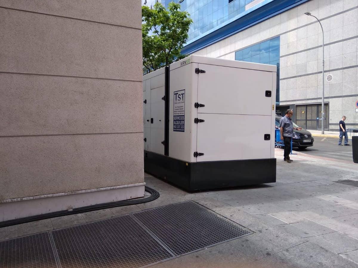 Alquiler grupo electrógeno Fuenlabrada Madrid