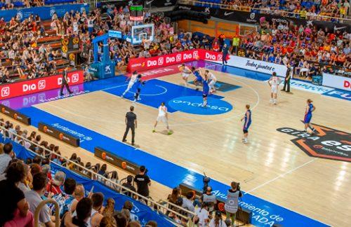 Triangular internacional de baloncesto femenino en Fuenlabrada
