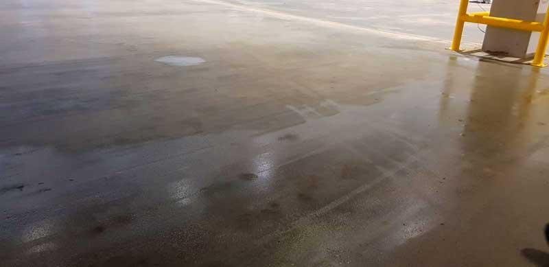 secado de hormigón inundación