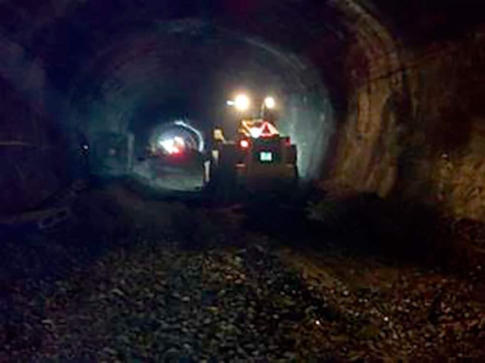 Renovación de aire en túneles
