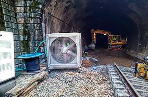 Ventilación forzada en túneles y obras 2019 - 2020