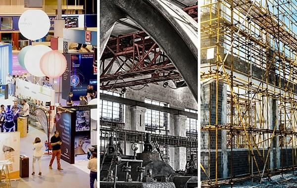 Especialistas en eventos, industria y construcción