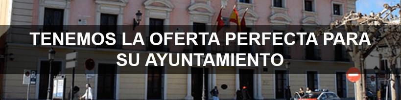 Alquiler de aplicaciones y equipos para Ayuntamiento y organicismos púbicos