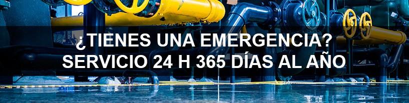 Tienes una emergencia - servicio 24 h 365 días al año