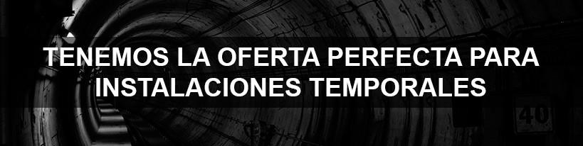 Alquiler de aplicaciones para minería y túneles en construcción